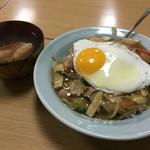 中華料理 揚子江 - 中華飯700円 スープ付き