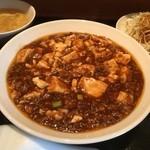 もりもと - ランチのマーボー豆腐