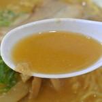 京都らーめん - 京都ラーメン・こってりラーメン スープ(2015.08)