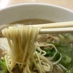 中華そば一久 - ラーメン 麺リフト〜(*^◯^*)❤️