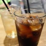 デイズ カリフォルニア カフェ - コカ・コーラ&ジンジャエール(ランチセット・ドリンク)