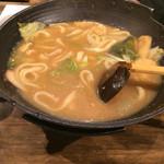 甲州ほうとう 完熟屋 - 野菜ほうとう1280円