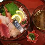 甲州ほうとう 完熟屋 - 海鮮丼