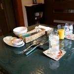 さらの木 - (2016/2月)朝食のジュースなど