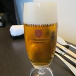 東洋軒 - 28年4月 マスターズドリーム生ビール