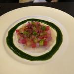 東洋軒 - 28年4月 本日の鮮魚のカルパッチョ