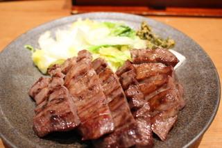 味の牛たん 喜助 横浜ランドマーク店 - 牛タン厚焼