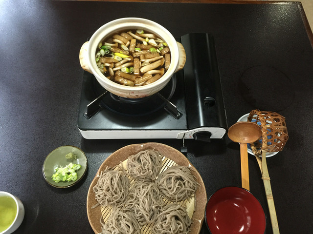 手打ちそば 福伝 - とうじ蕎麦¥1400