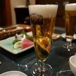 さらの木 - (2016/2月)夕食の別注文生ビール