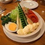 49626655 - 生野菜サラダ