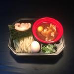 49626897 - 金のつけ麺中華+煮卵