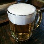 高半 - 生ビール小 ¥400