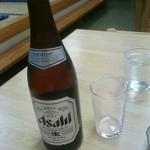 福来家 - 瓶ビール(税込み550円)