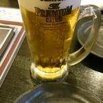 もつ粋 - ビール