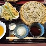 49629523 - 野菜天せいろ(700円)