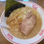 東京とんこつ とんとら - こってり正油ラーメン - 580円(税別) -