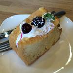かんカフェ - 本日のシフォンケーキ