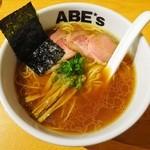 ラーメン ABE's - 醤油ラーメン