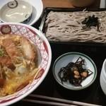 ふく福 - カツ丼&ザルそば