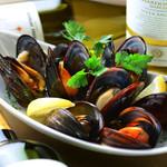 ムール貝のインペパータ・白ワイン蒸し