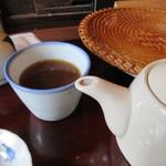 江戸そば 侘介 - 最後は蕎麦湯をいただいてお腹を癒しました
