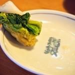鮨銀 - 白菜のお漬物