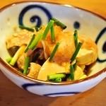 鮨銀 - マル秘 珍味(平目の肝と腸管)