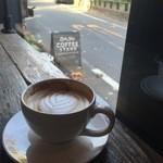 リトルナップコーヒースタンド - 最高に絵になるコーヒースタンド。