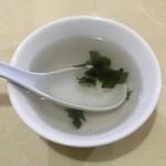 中華ハウス チェリオ - あんかけ焼きそばのスープです。