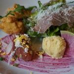 オステリア ルビーノ - 料理写真:前菜盛