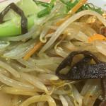 大豚白 - タップリな野菜と豚バラ肉
