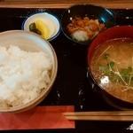 49645529 - 「お味噌汁セット」500円