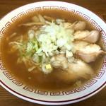 喜多方食堂 - 蔵出ししょうゆラーメン(600円)玉葱入り