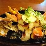 美琉太陽 - 近海魚のバター焼き
