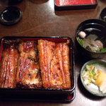 鰻松 - 鰻重(特上)