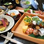 汐路 らん - 料理写真:おまかせ会席[8,000円](一例)