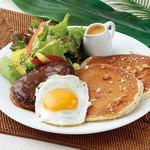 Hawaiian Pancake Factory - ハンバーグ&エッグ