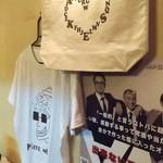49653964 - AWAイベント用のTシャツとトートバッグ