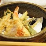 日本料理 玄海 - 旬の天婦羅盛り