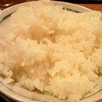 大阪トンテキ - ご飯です。