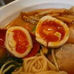 麺堂かのん - トッピング味玉H28.4