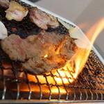 たかだホルモン - 料理写真:焼くべし焼くべし!