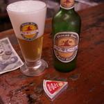 高崎屋本店 - 湘南ビールで喉を潤し