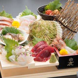 函館の市場直送の旬の鮮魚をご提供します!