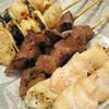Mitsumine - 料理写真:ねぎま・レバ・正肉