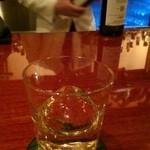 Bar Usquebaugh - ピカピカなカウンター☆