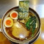 麺屋才蔵 - 鶏味玉正油