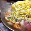 兆-治 - 料理写真:これが兆治の豚バラ&てっちゃん!