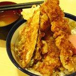 天丼てんや - カレー天丼580円(2010/09)