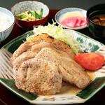 吉野川ポークの生姜焼御膳 1180円(税込)